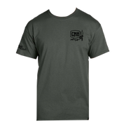 Caught Not Bought Bass Fishing Short Sleeve T-Shirt