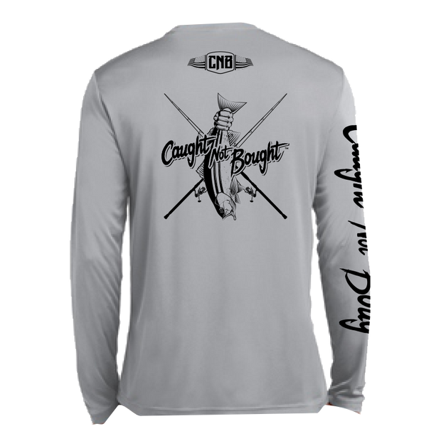Caught Not Bought Striper Fishing Performance Long Sleeve