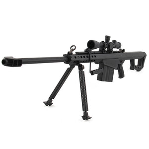 Mini Pew USA 50 Cal Sniper 1/3 Scale Model Replica Gun Non-Firing