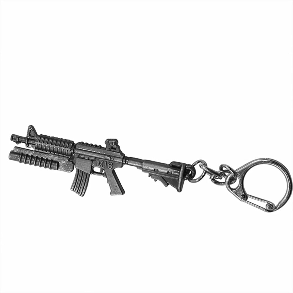 M16 with Grenade Launcher Keychain (Small)