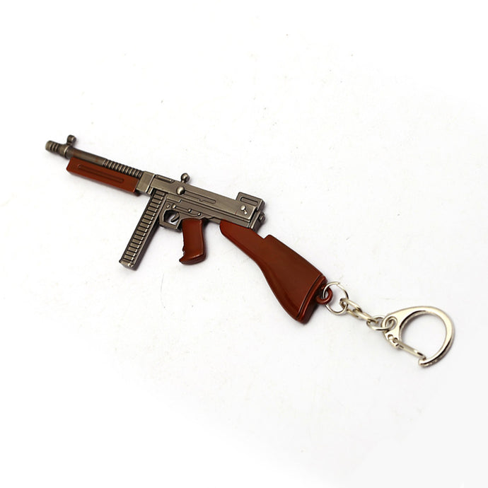 Thompson Submachine Gun Keychain (Medium)
