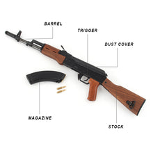 Mini Pew USA AK47 1/3 Scale Model Replica Gun Non-Firing