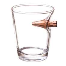 Shot Glass with Bullet