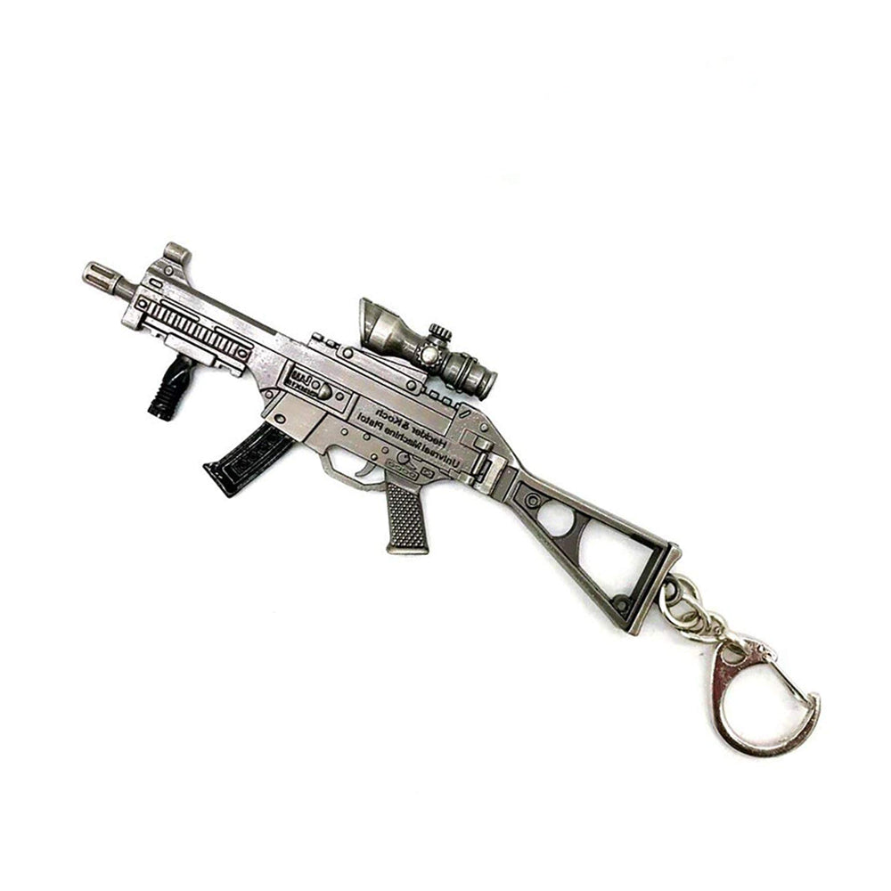 UMP Submachine Gun Keychain (Medium)