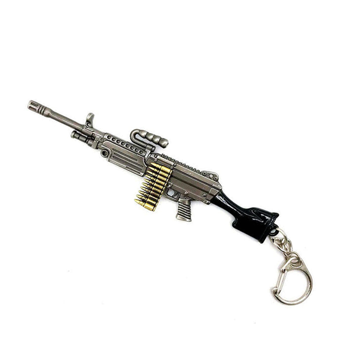 M249 Light Machine Gun Keychain (Medium)
