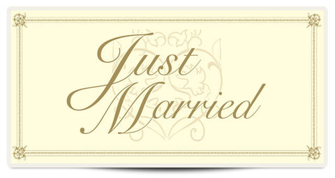 The Patty Standard  Just Married Banner