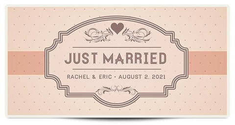 The Rachel Personalized Wedding Banner