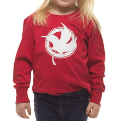 Youth Red Long Sleeve|T-shirt à manches longues rouge pour femme
