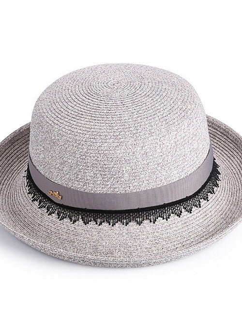 Sleek and Casual Solid Colored Up Brim Fedora Hat