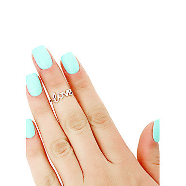 Cute Boho Style Love Toe Ring