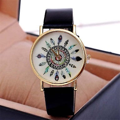 Simple Boho Style Aztec Dreamcatcher Fashion Watch
