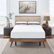 "Ananda 11"" Mattress with Pearl and Gel Infused Reactive Memory Foam - Medium"