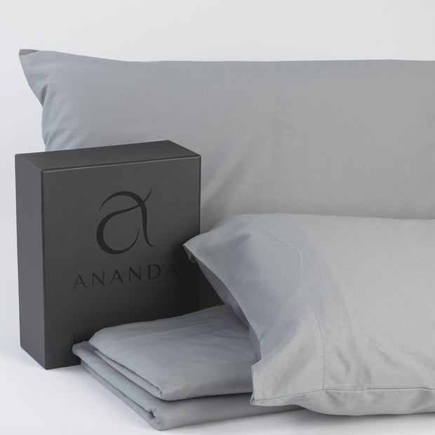 Ananda Bamboo Cotton Sateen Sheet Set - Ananda