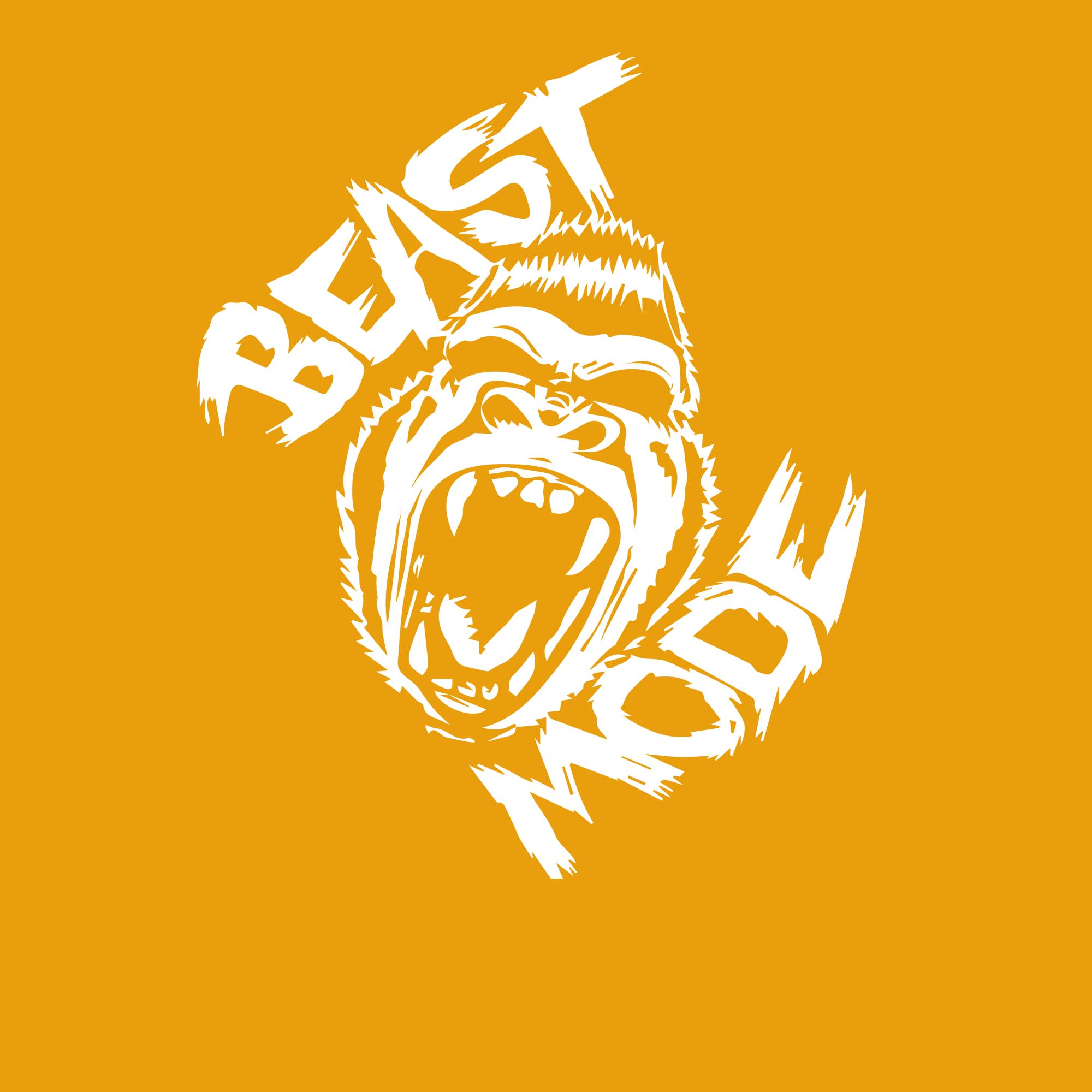 T-Shirt Swag Beast mode Graphic Printed T-Shirt