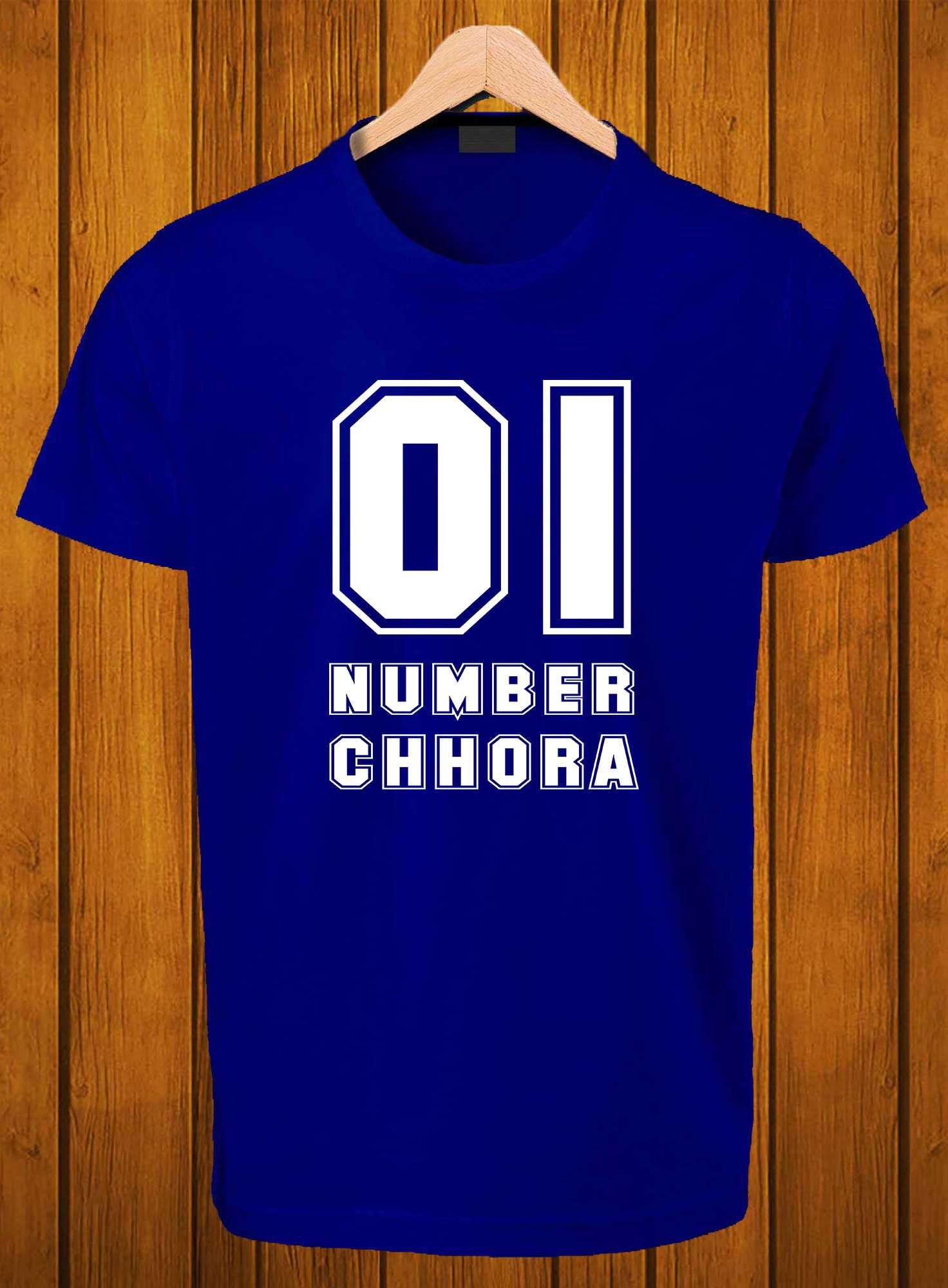 T-Shirt Swag Ek Number Chora Printed Graphic T-Shirt