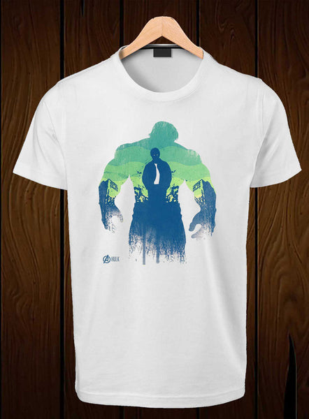T-Shirt Swag Hulk in Shadow Printed Graphic T-Shirt