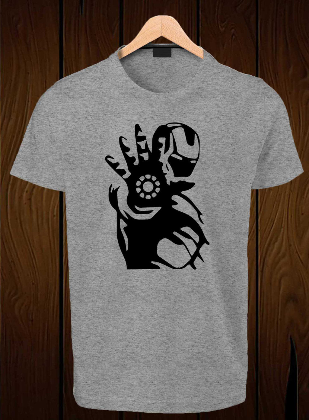 T Shirt Swag Best For Men Design Your Own Logo On Shirts Ironman Red Tees Cool Printed Graphic Grey
