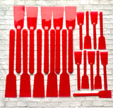 set of 20 spatulas