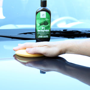 Polishing car paint with nextzett No. 2 One Step Polish