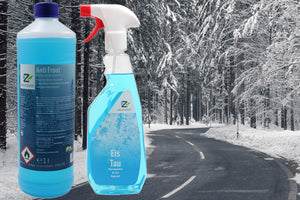 Anti Frost Concentrated Washer Fluid and De-Icer