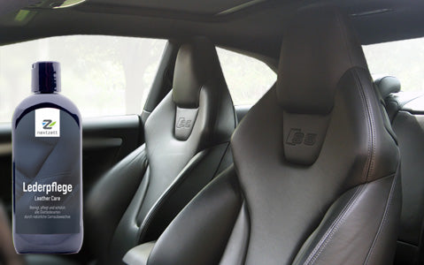how to clean and treat car leather seats