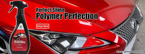 nextzett Perfect Shine on Red Lexus
