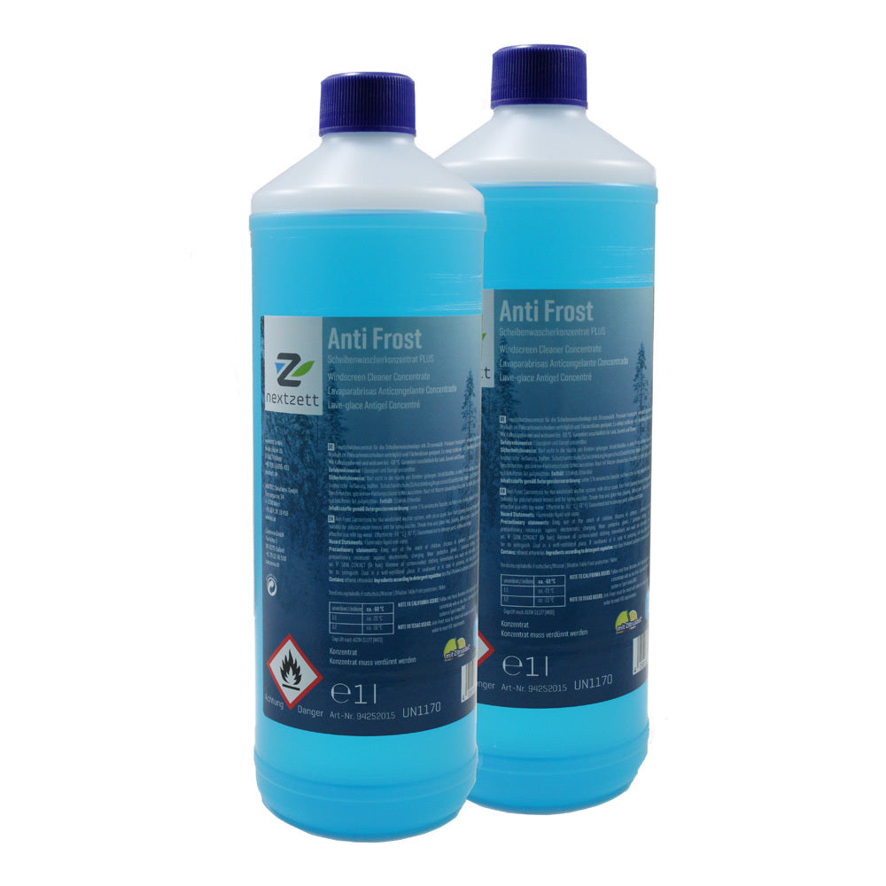 Anti Frost Windshield Washer Fluid Concentrate 33.8 oz (2 Pack)