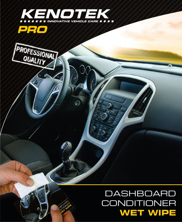 Kenotek Dashboard Conditioner Wipe