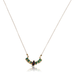 Alena Amythest, Emerald Necklace