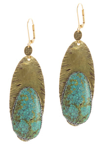 Aesha Turquoise earrings