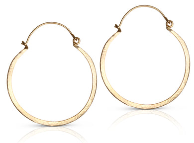 Annie Md gold hoop earrings