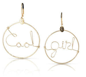 Brooklyn Cool Girl Earrings