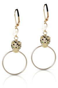 Cheetah Ring Earring