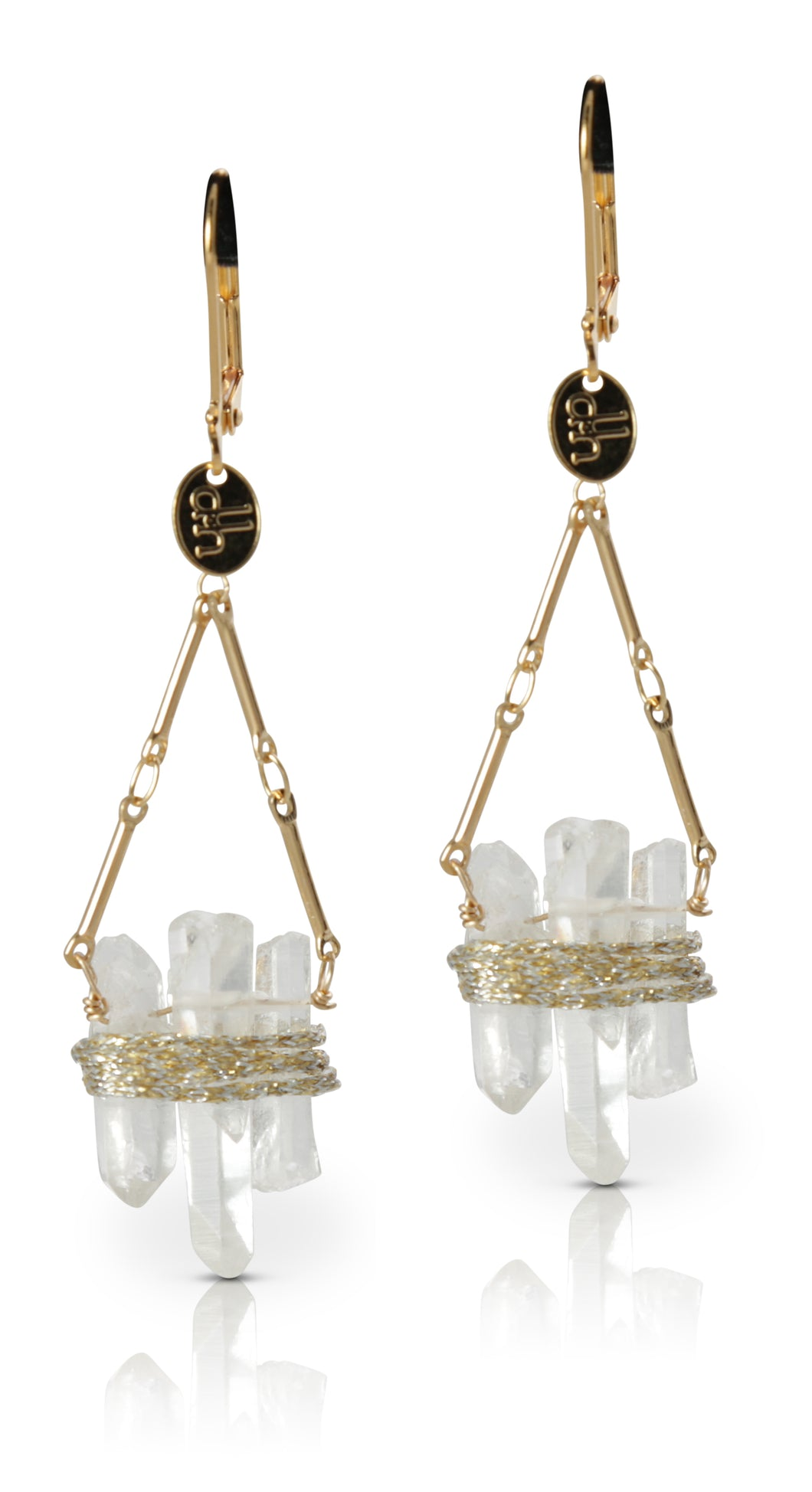 Chrysallis Crystal Quartz Earrings
