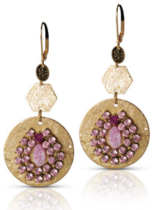 Prudence Pink earring