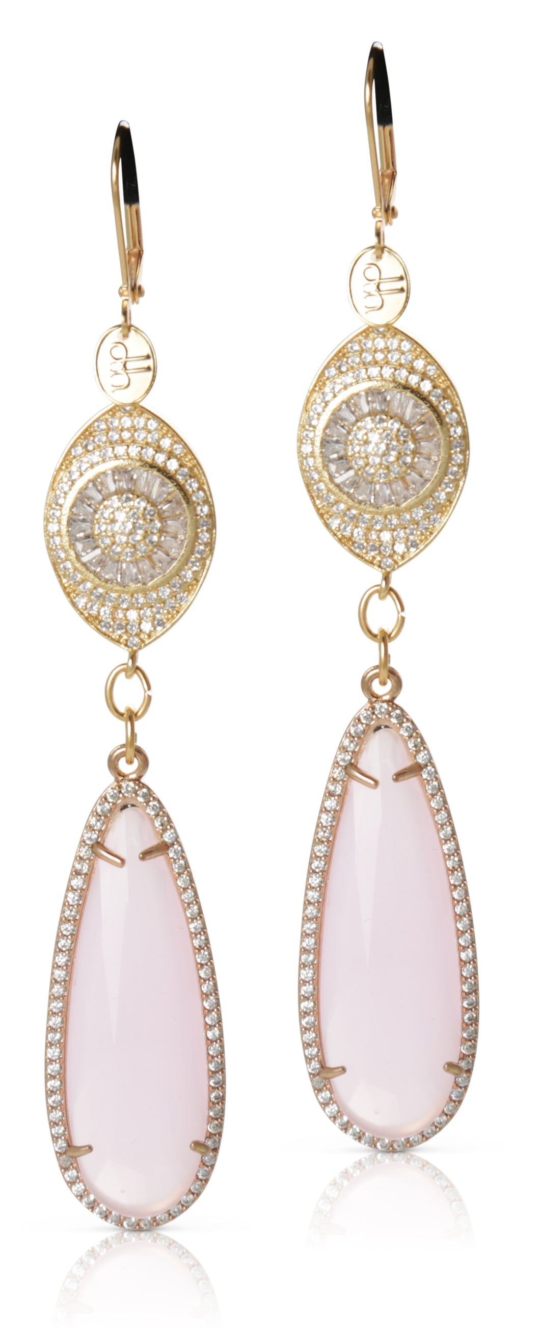 Gabija Light Pink Crystal