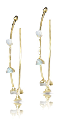 Harlene Labradorite Earrings