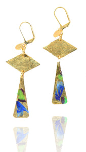 Lee Blue earrings