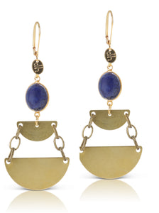 Molly lapis earring
