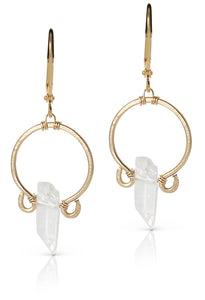 Challaway Crystal Quartz Earrings