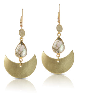 Cadi Labradorite Earrings
