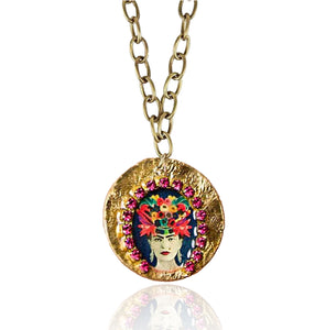 Frida Blue Necklace