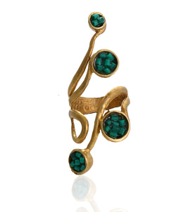 Hamilton Malachite Ring