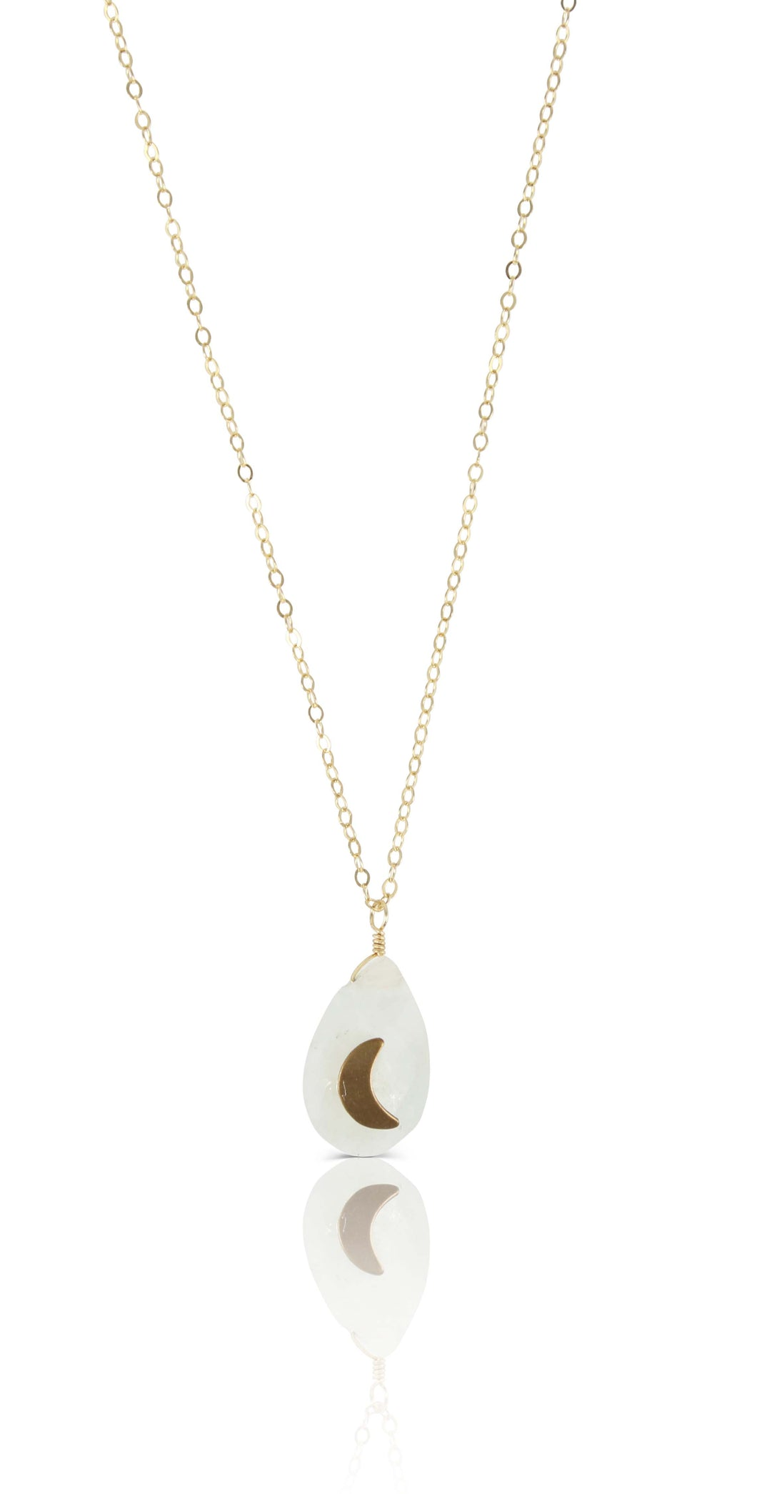 Moonshadow Moonstone Necklace