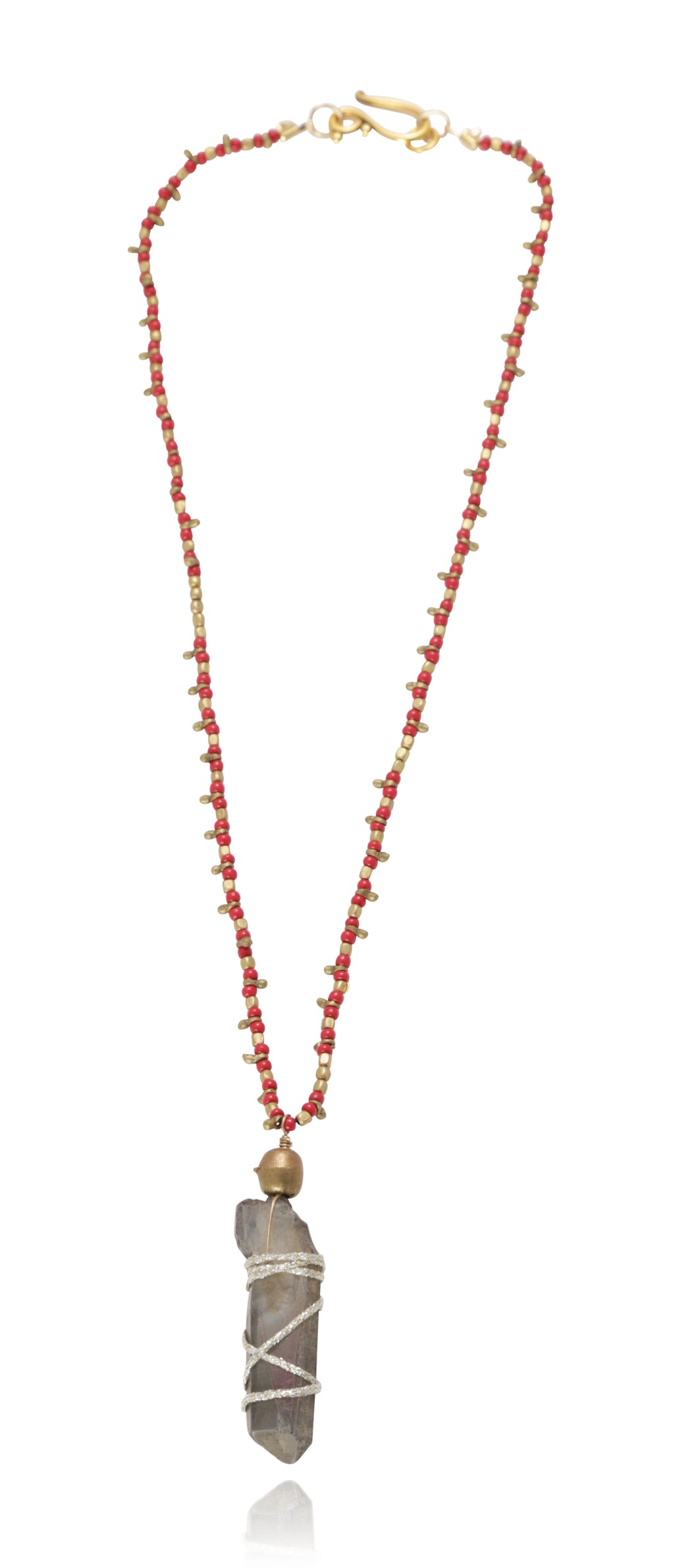 Rebecca Red Quartz Neck