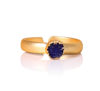 Aramis Blue Druzy RIng
