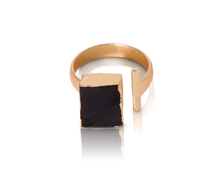 Lucinda Black Spinel ring