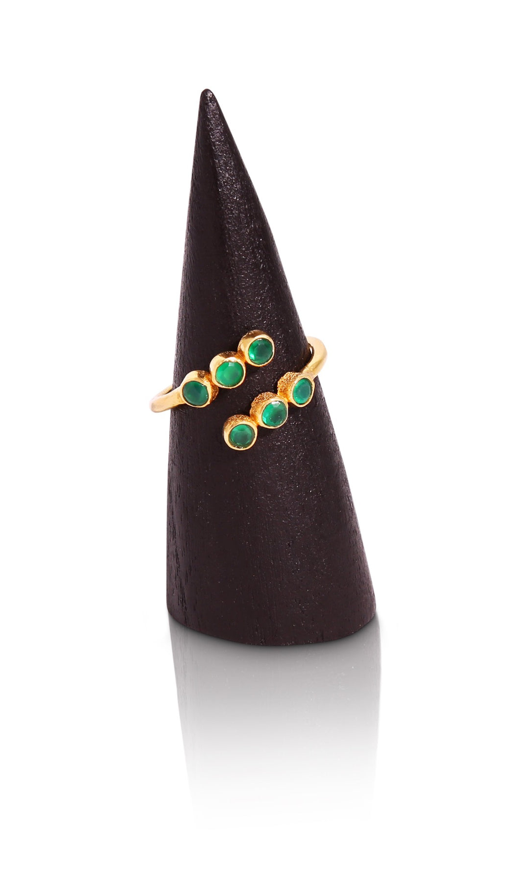 Esmerelda Emerald ring