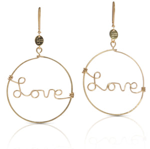 "Brooklyn ""Love"" earring"