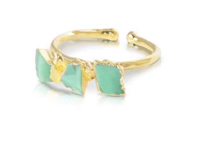 Anthony Chrysoprase Ring